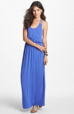 Racerback maxi dress by Lush at Nordstrom