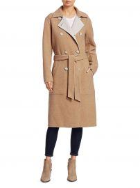 Rach Wool Blend Reversible Coat at Saks Fifth Avenue