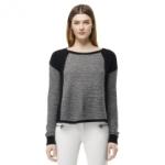 Rachel Berrys black sweater on Glee at Club Monaco