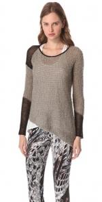 Rachel Berrys grey sweater at Shopbop