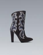 Rachel Bilsons Zara boots at Zara