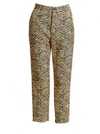 Rachel Comey - Baby Zebra Jacquard Vestige Pants at Saks Fifth Avenue