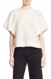 Rachel Comey  Ravine  Bell Sleeve Silk   Linen Top at Nordstrom