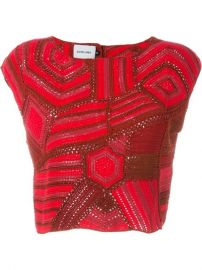Rachel Comey Crochet Cropped Top - The Shop At Bluebird at Farfetch