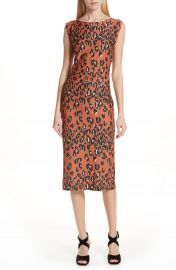 Rachel Comey Medina Leopard Print Sheath Dress   Nordstrom at Nordstrom
