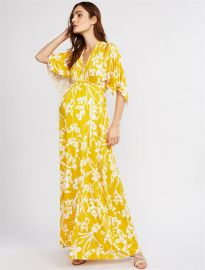 Rachel Pally Printed Caftan Maternity Maxi Dress at A Pea in the Pod