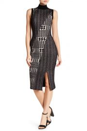 Rachel Rachel Roy   Mixed Pattern Jacquard Dress   Nordstrom Rack at Nordstrom Rack