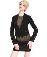 Rachel Roy Studded Cropped blazer at Macys at Macys