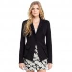 Rachel Roy black studded blazer on Revenge at Rachelroy