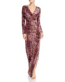 Rachel Zoe Dianora Printed Velvet Gown Women - Bloomingdale s at Bloomingdales