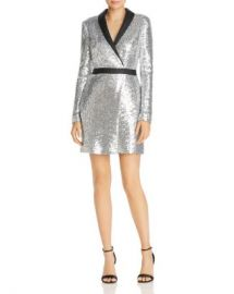 Rachel Zoe Meryl Sequin Faux Wrap Dress - 100  Exclusive Women - Bloomingdale s at Bloomingdales