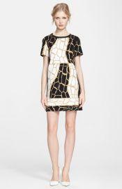 Rachel Zoe and39Landonand39 Giraffe Print Dress at Nordstrom