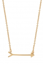 Rachels arrow necklace at Stella & Dot