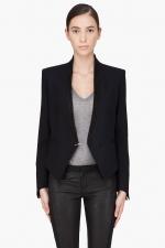 Rachels black blazer on Glee at Ssense