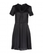 Rachels black dress at Yoox