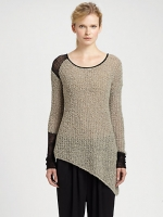 Rachels boucle sweater by Helmut Lang at Saks Fifth Avenue