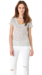 Rachels striped tee at Shopbop