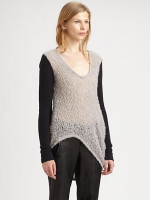 Rachels sweater at Saks Fifth Avenue at Saks Fifth Avenue