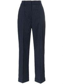 Racil Charlie Pinstripe Wool Trousers - Farfetch at Farfetch