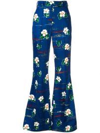 Racil Floral Print Trousers - Farfetch at Farfetch