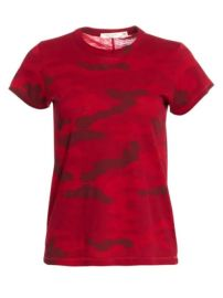 Rag  amp  Bone - Cotton Camo Tee at Saks Fifth Avenue