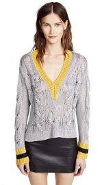 Rag  amp  Bone Emma V Neck Sweater at Shopbop