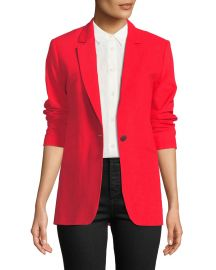 Rag  amp  Bone Ridley Notched-Lapel Blazer Jacket at Neiman Marcus