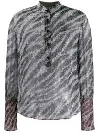 Rag  amp  Bone zebra print blouse zebra print blouse at Farfetch