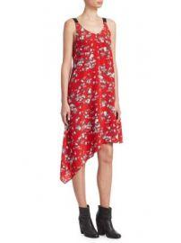 Rag   Bone - Zoe Floral-Print Dress at Saks Fifth Avenue