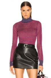 Rag   Bone Raina Turtleneck in Purple   FWRD at Forward