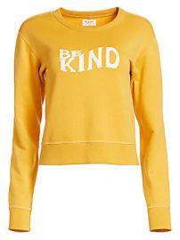 Rag  amp  Bone - Be Kind Crewneck Sweatshirt at Saks Fifth Avenue