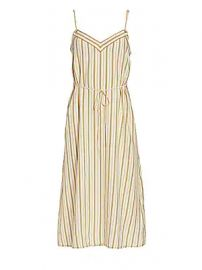 Rag  amp  Bone - Ilona Striped Silk Sleeveless Dress at Saks Fifth Avenue