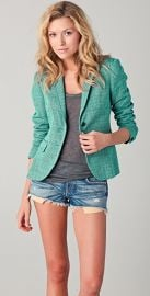 Rag  amp  Bone Bailey Tweed Jacket at Shopbop