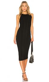 Rag  amp  Bone Brandy Midi Dress in Black from Revolve com at Revolve