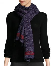 Rag  amp  Bone Cheryl Speckled Wool Rectangle Scarf at Neiman Marcus