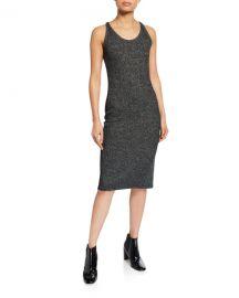 Rag  amp  Bone Clara Torqued Racerback Dress at Neiman Marcus