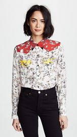Rag  amp  Bone Floral Jasper Shirt at Shopbop