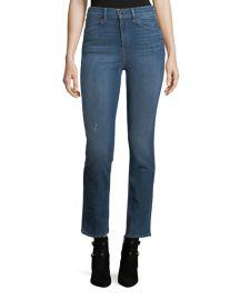 Rag  amp  Bone High-Rise Slim-Fit Cigarette Jeans at Neiman Marcus