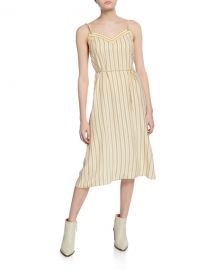 Rag  amp  Bone Ilona Striped Midi Dress at Neiman Marcus