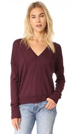 Rag  amp  Bone JEAN Bevan V Neck Sweater at Shopbop