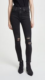 Rag  amp  Bone JEAN High Rise Ankle Skinny Jeans at Shopbop