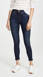 Rag  amp  Bone JEAN Nina High Rise Ankle Skinny Jeans at Shopbop