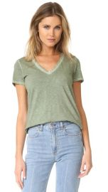 Rag  amp  Bone JEAN Sublime Wash V Neck Tee at Shopbop