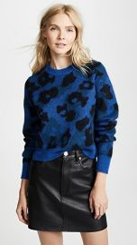 Rag  amp  Bone Leopard Sweater at Shopbop