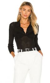 Rag  amp  Bone Pacey Polo in Black from Revolve com at Revolve