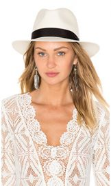 Rag  amp  Bone Panama Hat in White from Revolve com at Revolve
