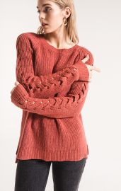 Rag Poets Gretchen Sweater Tandori Spice at Shoptiques