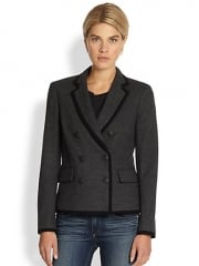 Rag and Bone - Harrow Double Breasted Wool Blazer at Saks Fifth Avenue