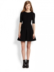 Rag and Bone - Niki Pointelle Stretch Knit Dress at Saks Fifth Avenue