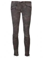 Rag and Bone Ankle Zip Skinny Trouser - American Rag at Farfetch